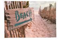 Print Beach 70x50cm